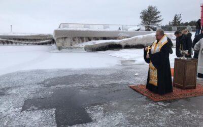 Праздничные богослужения Крещения Господня