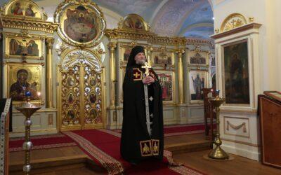 Благословение вам на Великий пост из Коневского монастыря!