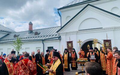 27-28 мая состоялись торжества 30-летия возрождения монашеской жизни на Коневце!